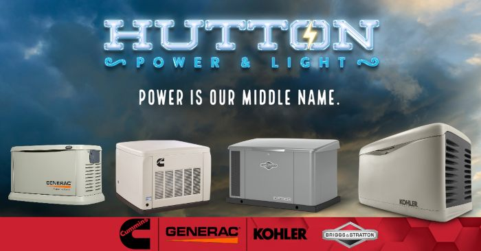 Cummings, Generac, Kohler, and Briggs & Bratton generators