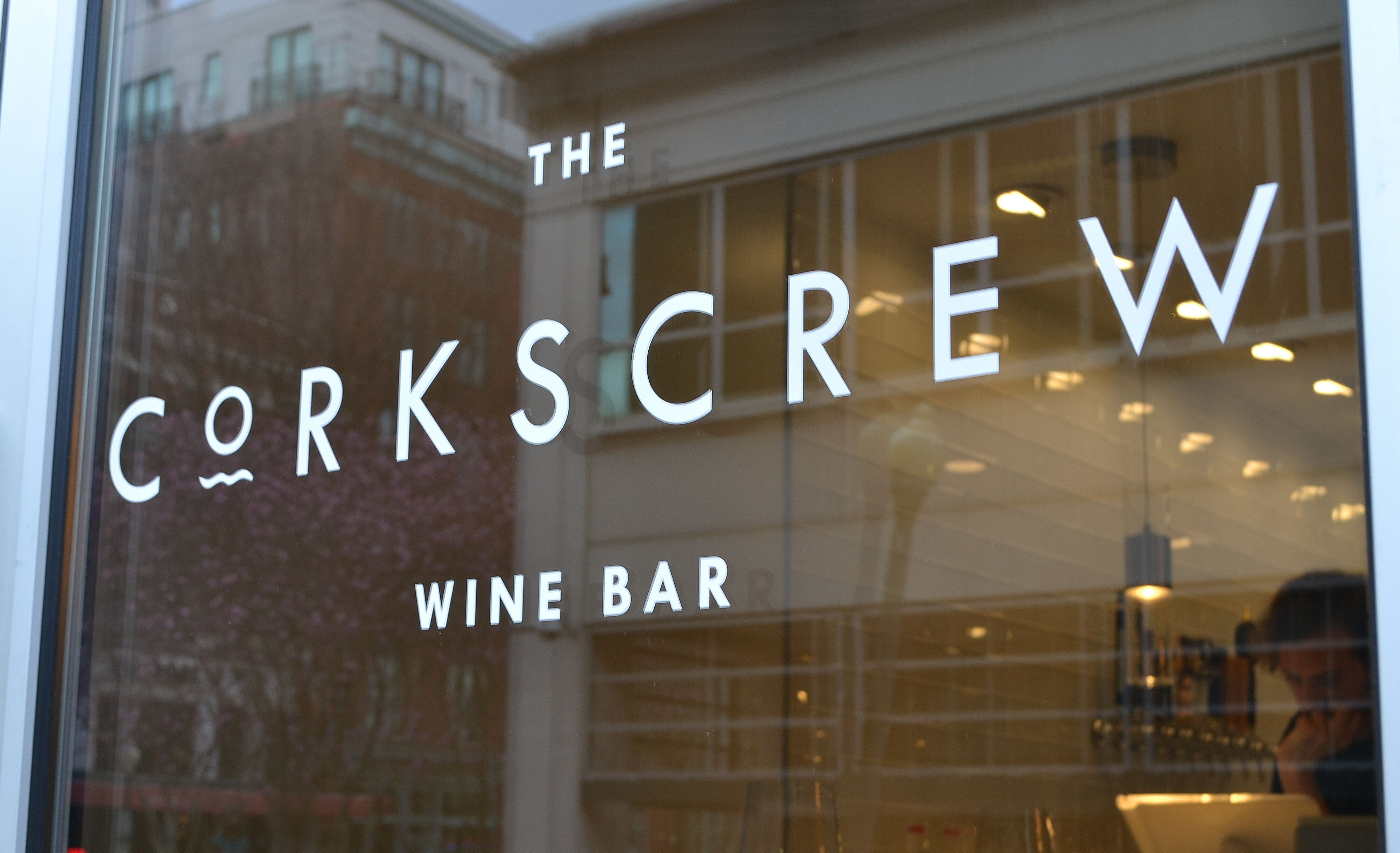 The Corkscrew Wine Bar Storefront